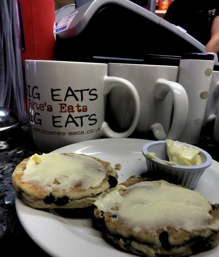Welsh Cakes at Petes Eats Cafe