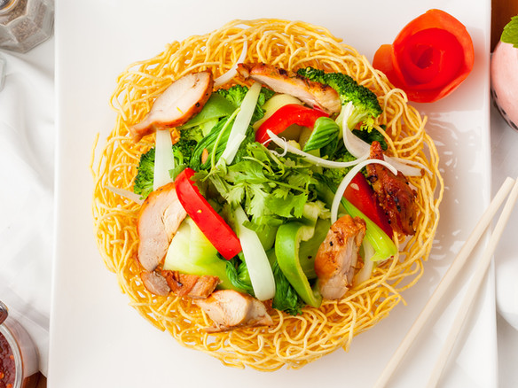 Time Crispy Stir fried Noodle