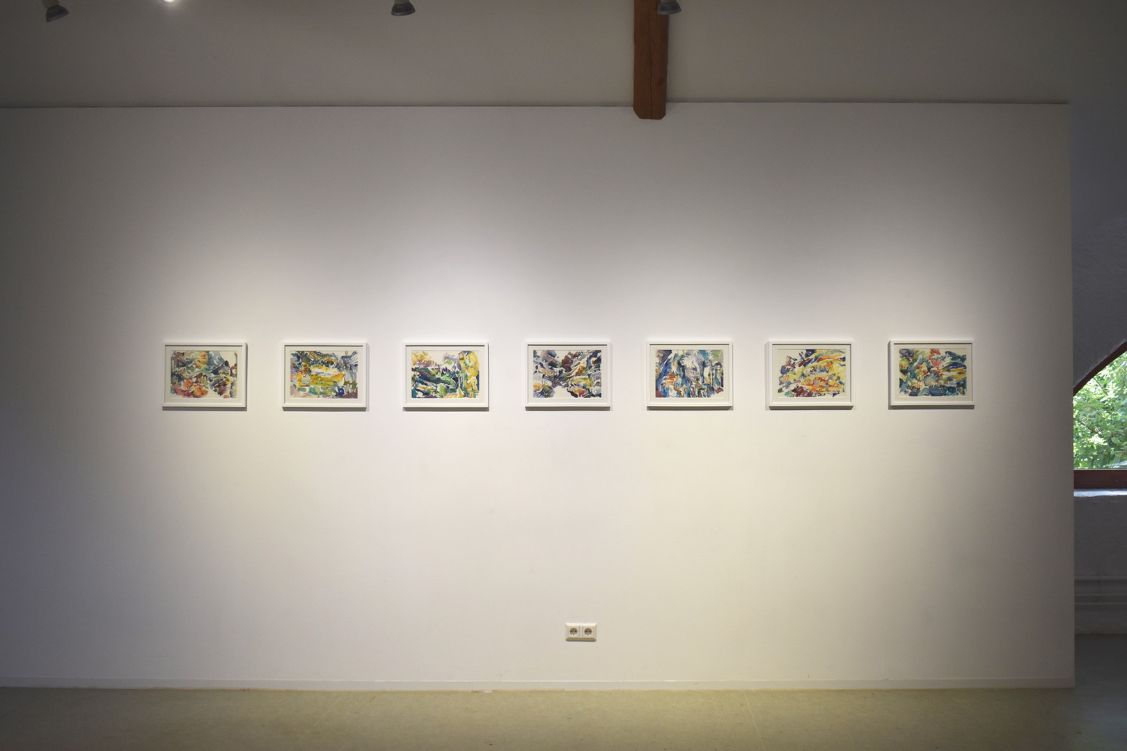 """[2019, Solo Exhibition """"Reconstitution"""" , Bourglinster/Luxembourg]"""