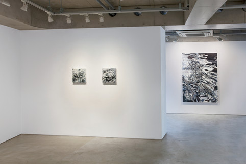 """[2018, Solo Exhibition """"A moment of Immersion"""", Tokyo/Japan]"""