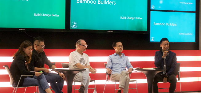 I was impressed by the two Alvins (speakers).  Very interesting presentations.  I'm also impressed by the number of people that are actively working with Bamboo Builders as well as by the size of the audience on Saturday (particularly given the current situation). ~Michael Switow