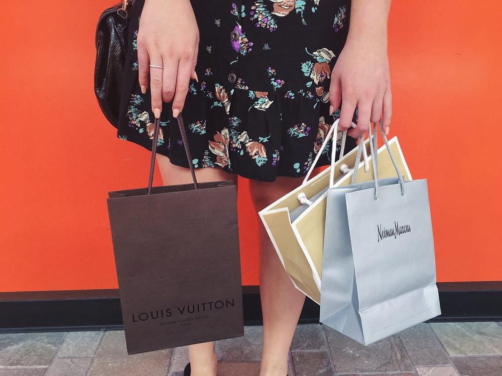 Shopping at Ala Moana