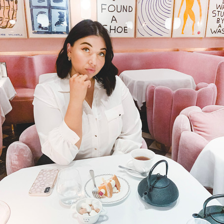 Afternoon Tea at Sketch London: The most expensive Instagram photo I've ever taken