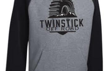 Black/Vintage Heather Sweatshirt