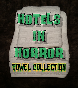 Hotels in Horror Towel Collection