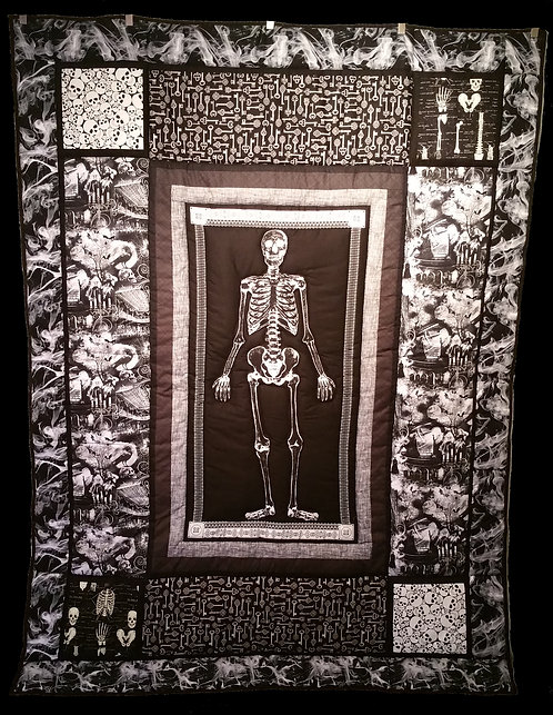 Skeleton Crew Quilt: Mystery Mansion