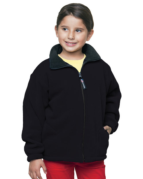 Youth Full Zip Fleece