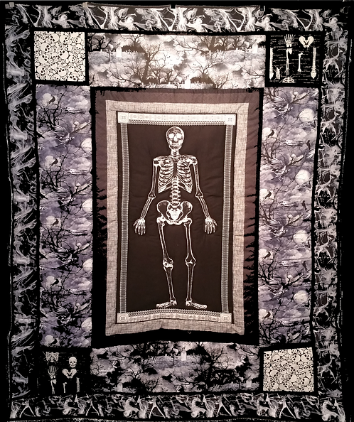 Skeleton Crew Quilt: Graveyard Conspiracy