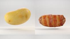 food sculpting test