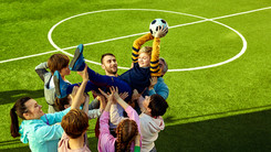 mastercard football support communication image