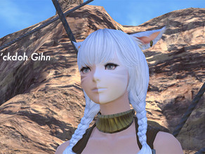 顔が半分白い少女の旅が始まってしまった|FF14