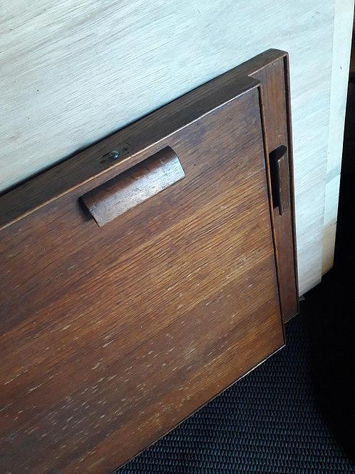 2 x Wooden cabinet 40's doors