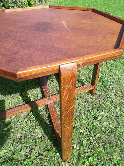 Arts & craft Octagonal side table