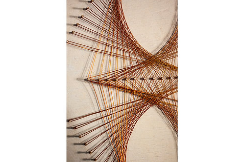 SOLD -Pin Art / fine wire Art