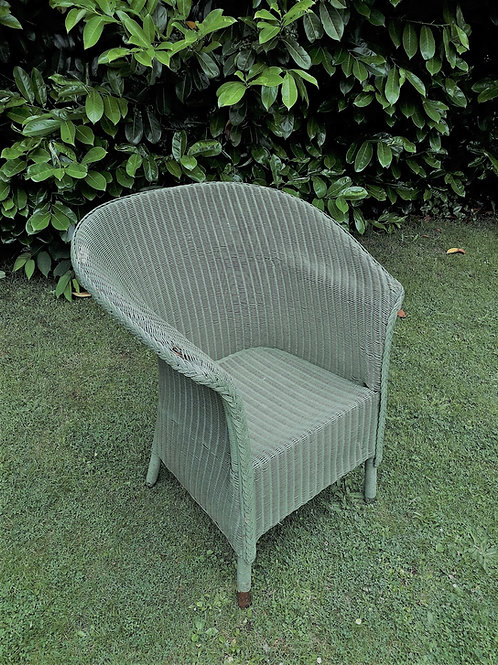 SOLD -Large wicker vintage 30's chair
