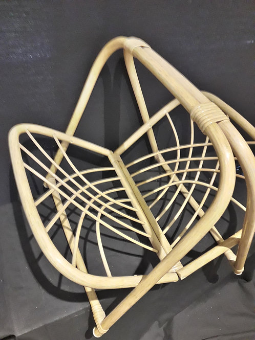 SOLD -Vintage bamboo magazine/ newspaper/ letter rack