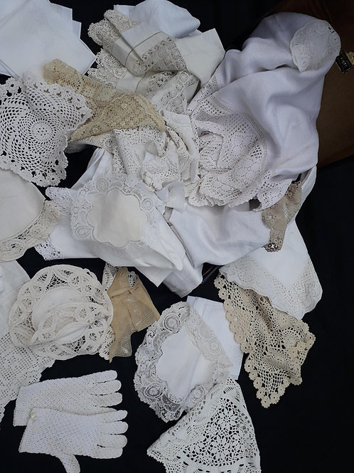 SALE *****Lace & Linens - collection ONE