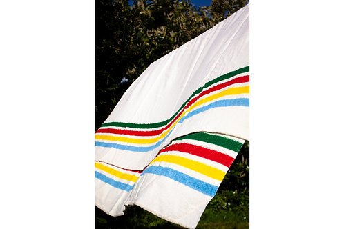 Hudson Bay Whitney blanket- SINGLE