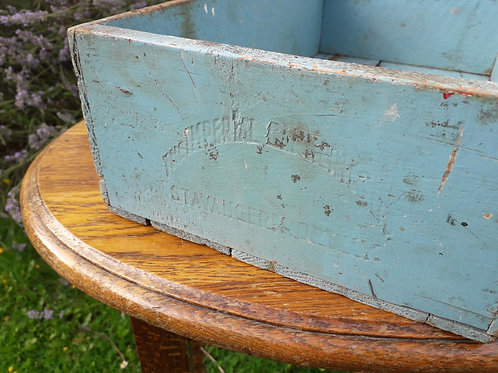 2 X Old wooden  boxes  -Norwegian -FREE delivery