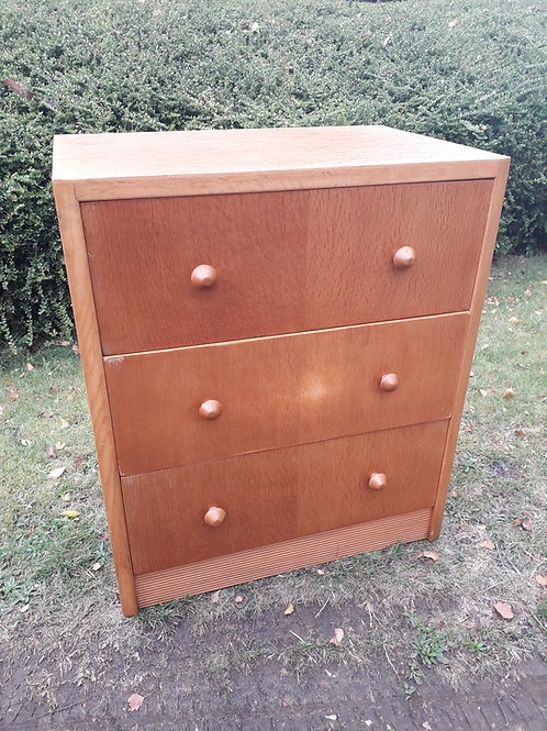 SOLD -Herbert .E. Gibbs 'Autographed'chest of drawers- mid century