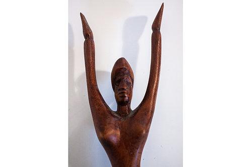 Hallelujah! Carved Lady