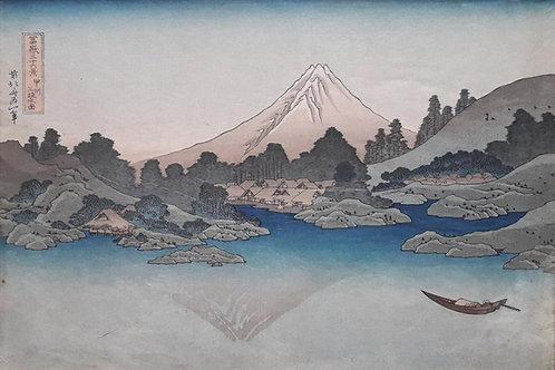 Japansese block print - 1916
