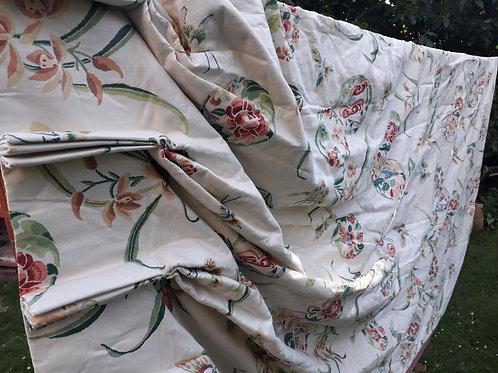 LEE JOFA designer print large vintage curtain