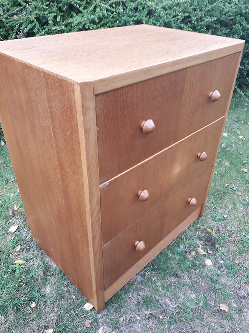 Herbert .E. Gibbs 'Autographed'chest of drawers- mid century