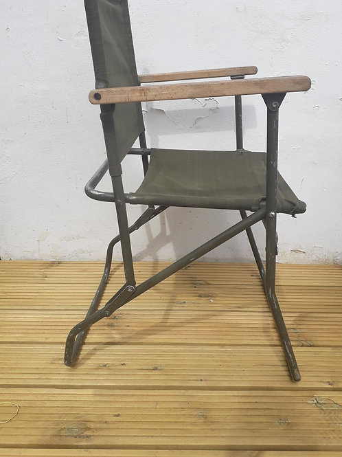 SOLD - 2 x ex- Military Army / RAF chairs