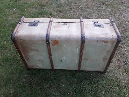 Albion old travel trunk