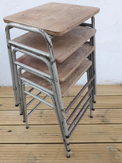 SOLD - Industrial  vintage lab stool
