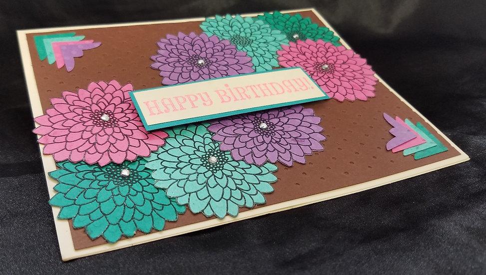 Bold Floral Birthday