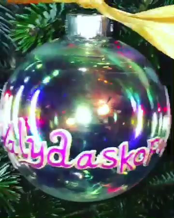 Custom Logo Ornament