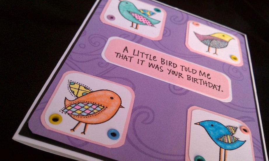 A Little Birdie Birthday
