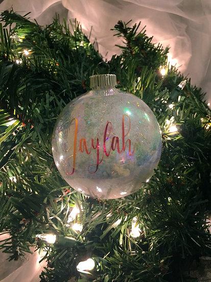 Name Ornaments