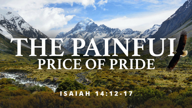 The Painful Price Of Pride