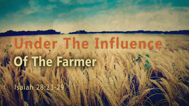 Under The Influence Of The Farmer