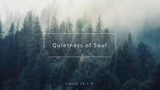 Quietness Of Soul