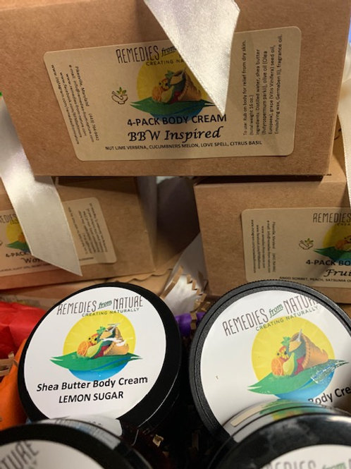 4-Pack Body Cream
