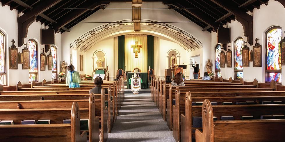 Altar Server Training-Sanctuary