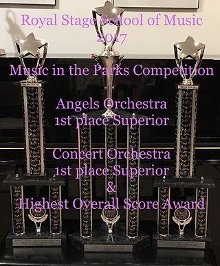 Award Winning Orchestra Ms. Feng