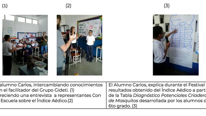 La Historia de Carlos, El mini científico de La Vega