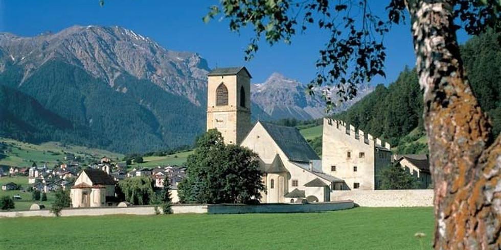 Führung Wirtschaftshof im Kloster St. Johann in Müstair