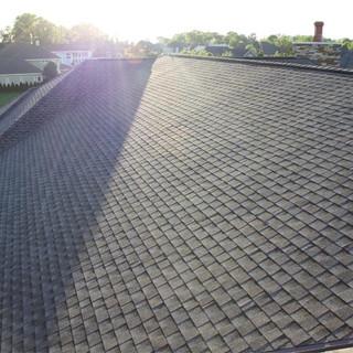 Shingle roof