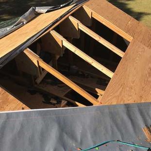 Roof truss repair