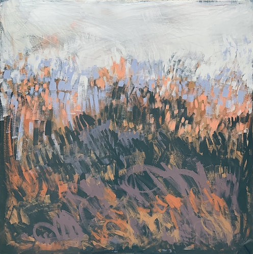 Claire Oxley, Wild lit grasses