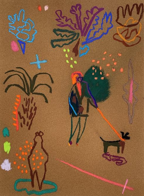 Becky Blair, Pastel drawing II