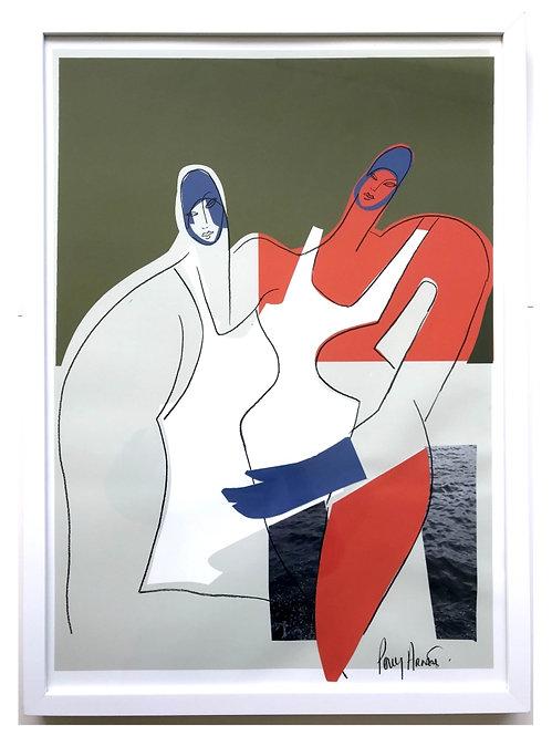 Polly Arnett, Swimmer series - Bold embrace