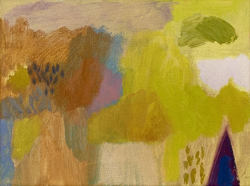 Becky Blair, Yellow fields of summer