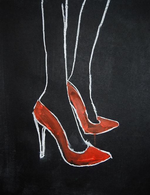 Lizbeth Holstein, Red Stilettos
